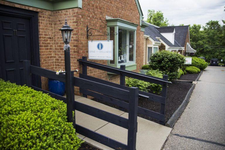 Handicap accessible entrance to Spine Wellness Cincinnati